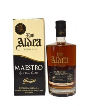Rhum Aldea Maestro 2006 70cl