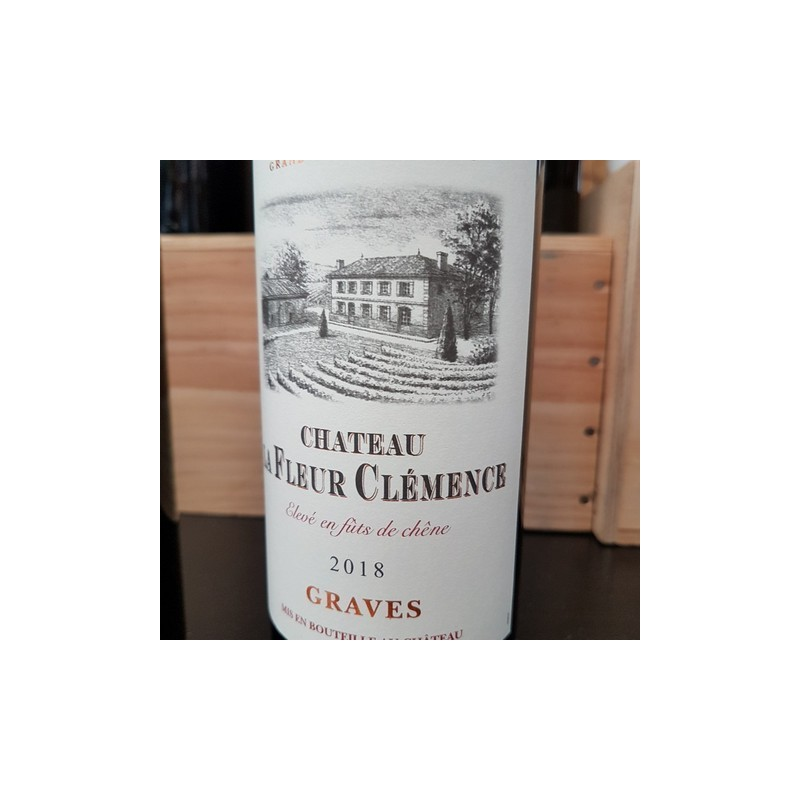Château la Fleur Clemence 2018 Graves rouge 75cl