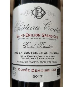 Château Coutet 2017 St Emilion Grand cru Cuvée Demoiselles 75cl