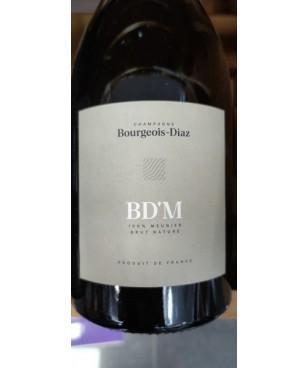 Magnum Champagne Bourgeois Diaz BD'M Brut nature 100% meunier - 150cl